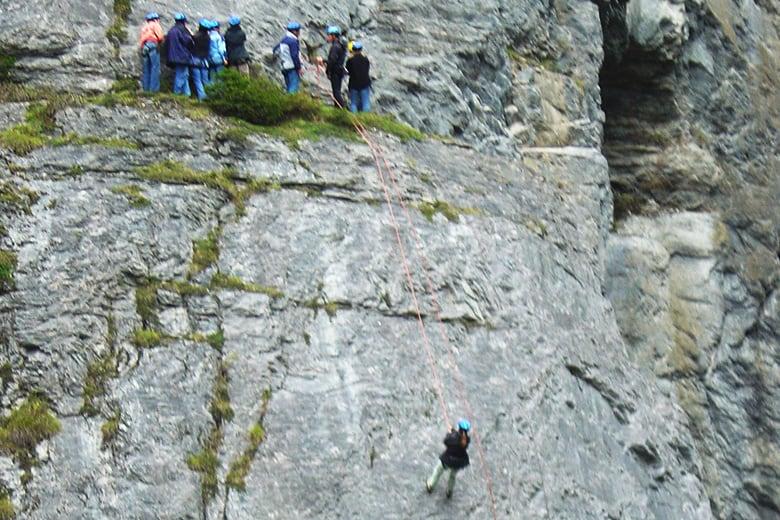 Abseilen Ohne Klettergurt : Klettern & abseilen